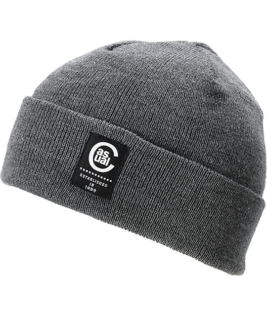 Casual Industrees Seadog Charcoal Watchman Beanie