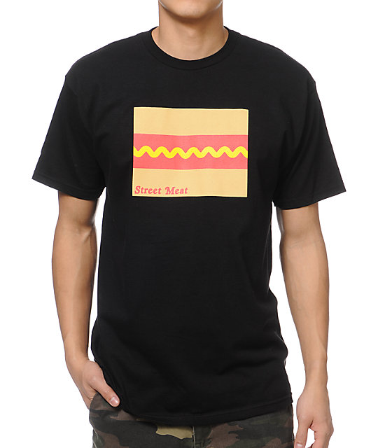 Casual Industrees Street Meat Black T-Shirt