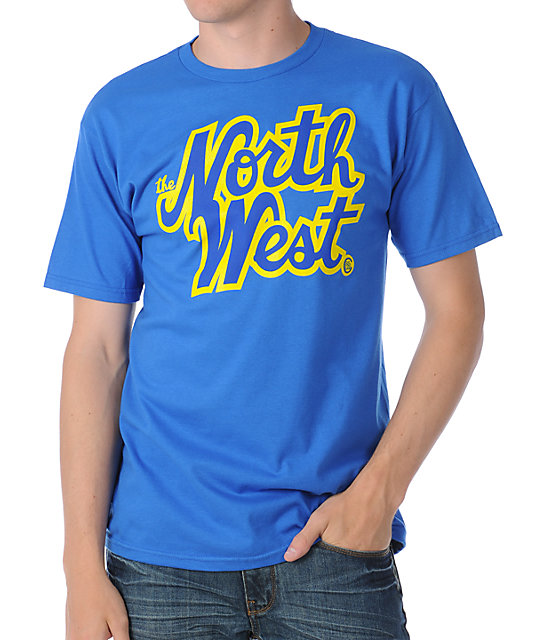 Casual Industrees The Northwest Blue T-Shirt