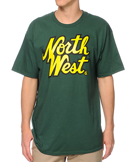 Casual Industrees The Northwest Green T-Shirt