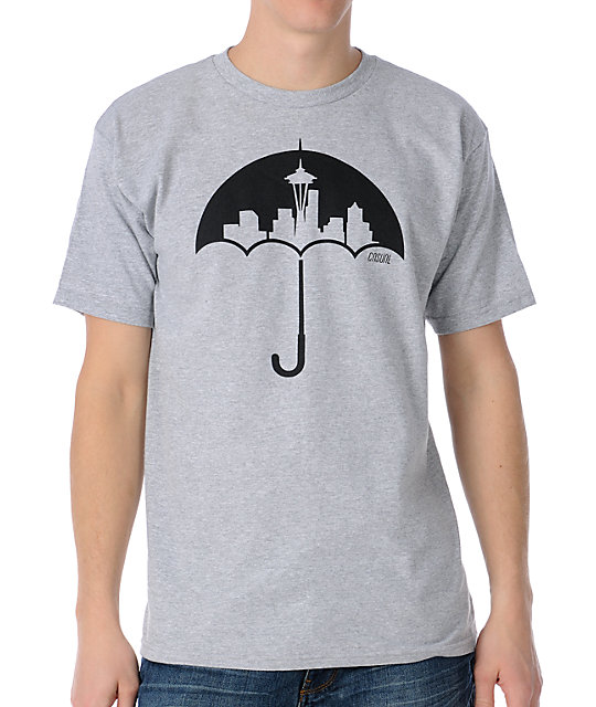 Casual Industrees Umbrella Grey T-Shirt