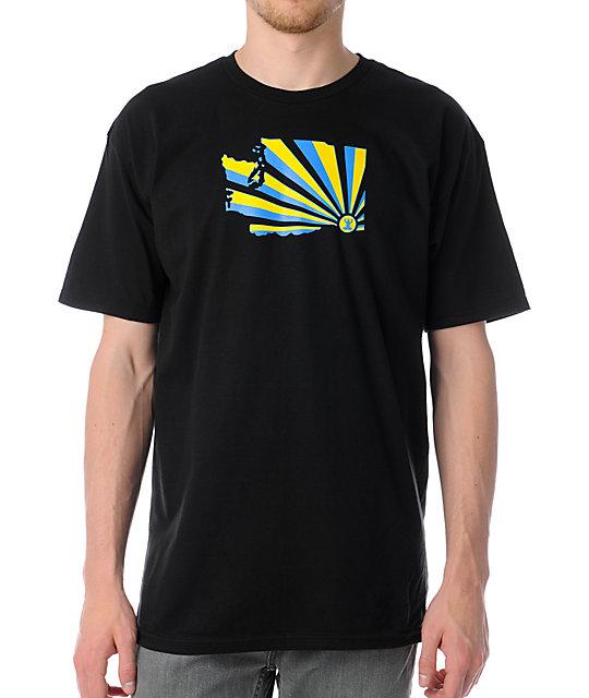 Casual Industrees WA Brad Brah Black T-Shirt
