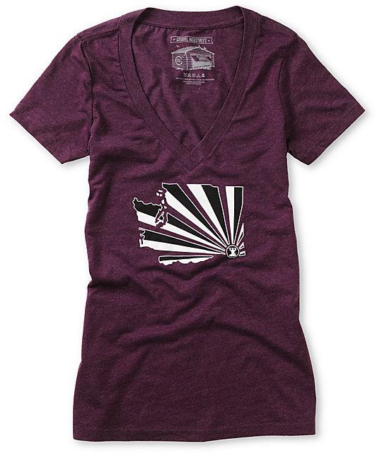 Casual Industrees WA Brad Brah Purple T-Shirt