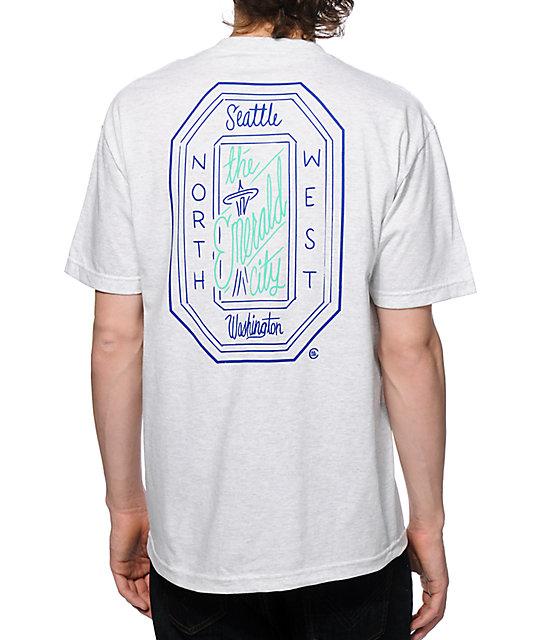 Casual Industrees WA Emerald Script T-Shirt