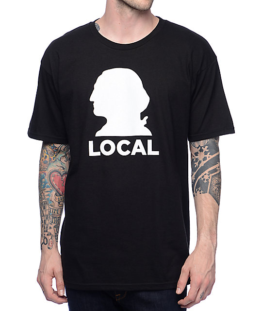 Casual Industrees WA Local Black T-shirt