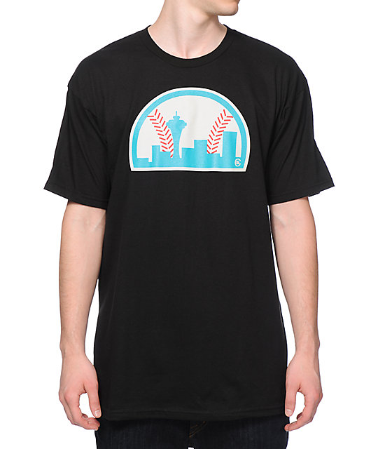 Casual Industrees WA Seattle Baseball T-Shirt