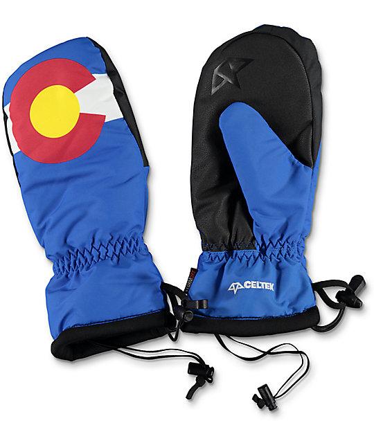 Celtek Bitten By A Mitten Colorado Snowboard Mittens