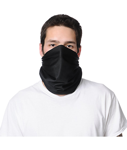 Celtek Scribble Black 2013 Fleece Lined Face Mask