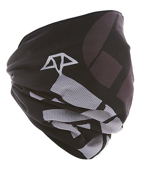 Celtek Scribble Black Fleece Lined Face Mask
