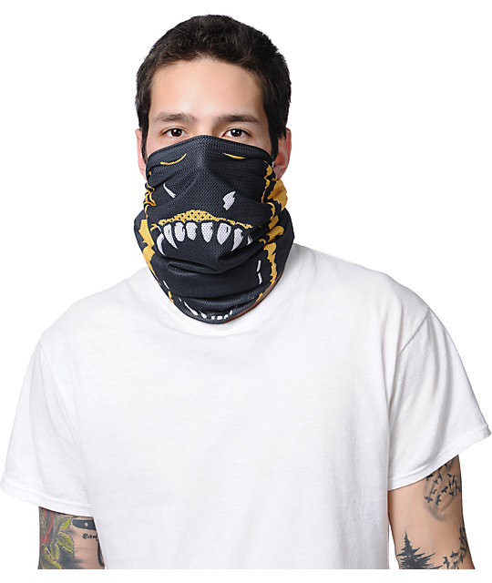 Celtek Scribble Grenier 2013 Fleece Lined Face Mask