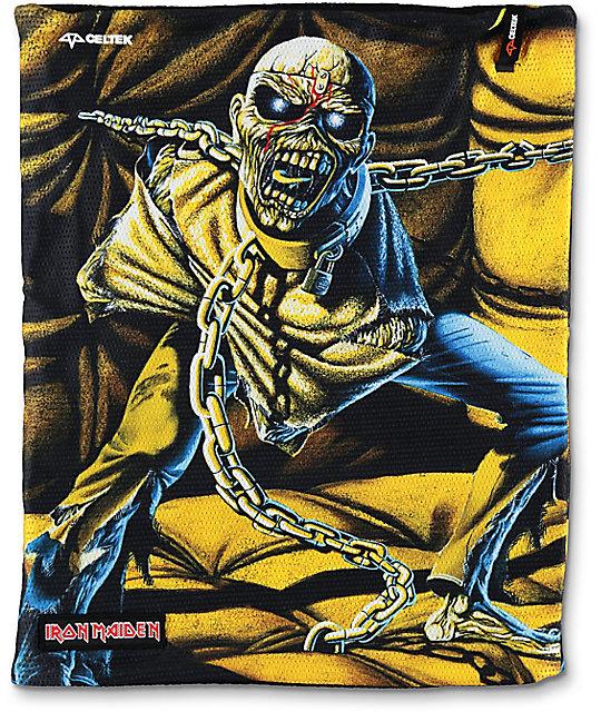 Celtek x Iron Maiden Scribble Neck Gaiter
