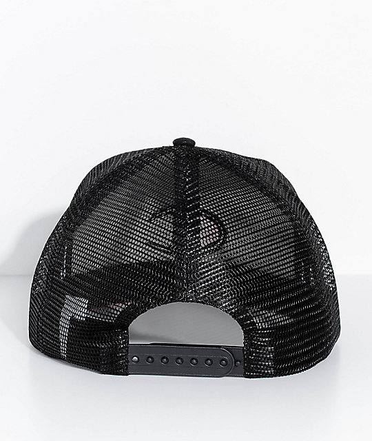 Champion Big C Logo Black Snapback Hat