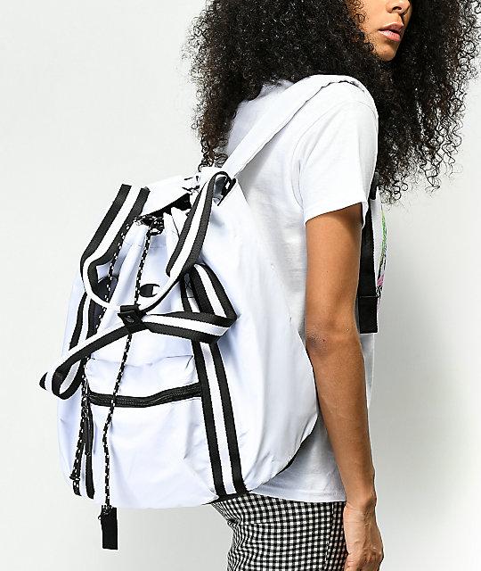Champion Free Form White Backpack by United Legwear Company