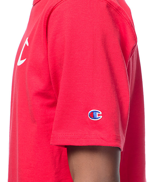Champion Heritage Patriotic C Red T-Shirt