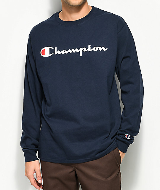 Sweaters champion for Long sweaters and shirts