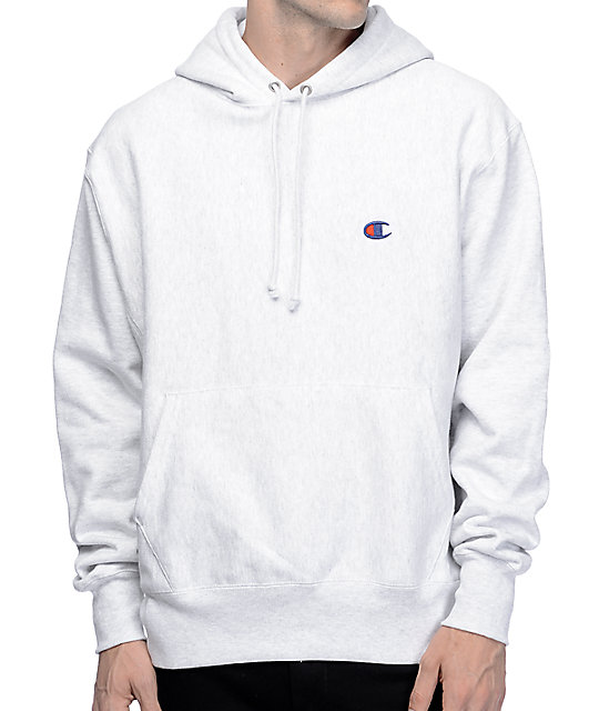 Champion Reverse Weave Athletic Grey Hoodie at Zumiez : PDP