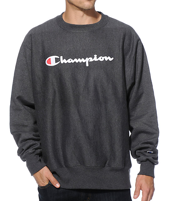 Champion Reverse Weave Crew Neck Sweatshirt at Zumiez : PDP