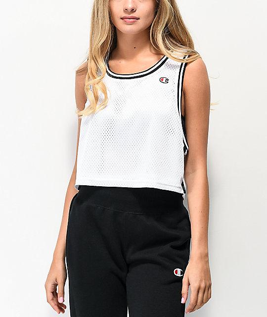 Camiseta De Blanca Corta Reversible Malla Champion xsthrdCQ