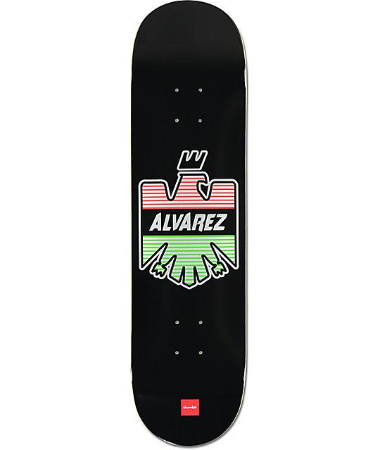 "Chocolate Alvarez Eagle 8.25""  Skateboard Deck"