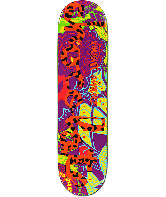 "Chocolate Alvarez Hype Chunk 8.25""  Skateboard Deck"