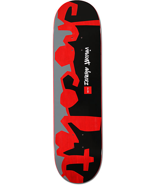 "Chocolate Alvarez Knockout Chunk 8.25""  Skateboard Deck"