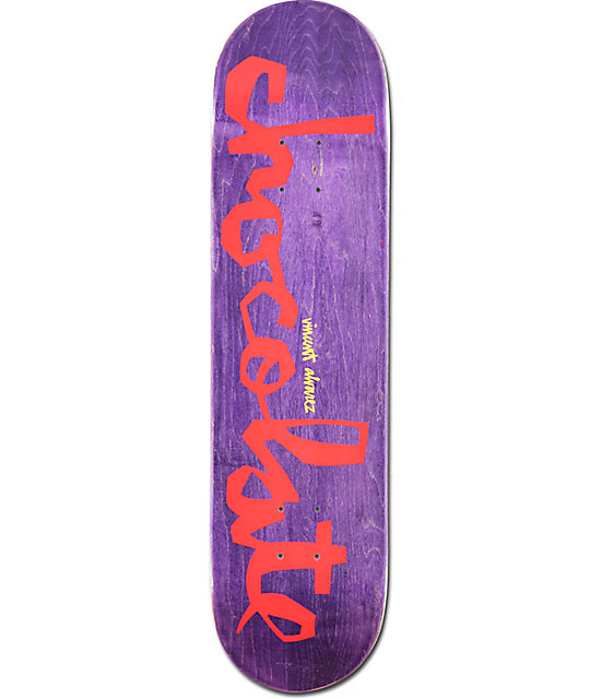 "Chocolate Alvarez OG Chunk 8.0"" Skateboard Deck"