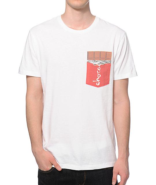 Chocolate Bar Pocket T-Shirt