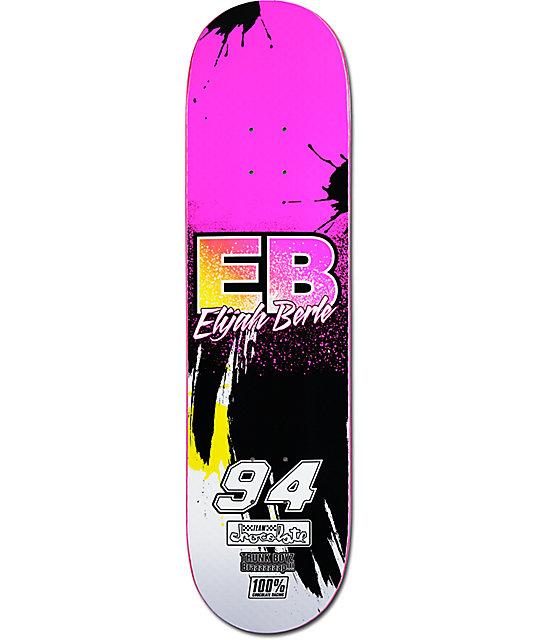 """Chocolate Berle Braaap! 8.25"""" Skateboard Deck"""