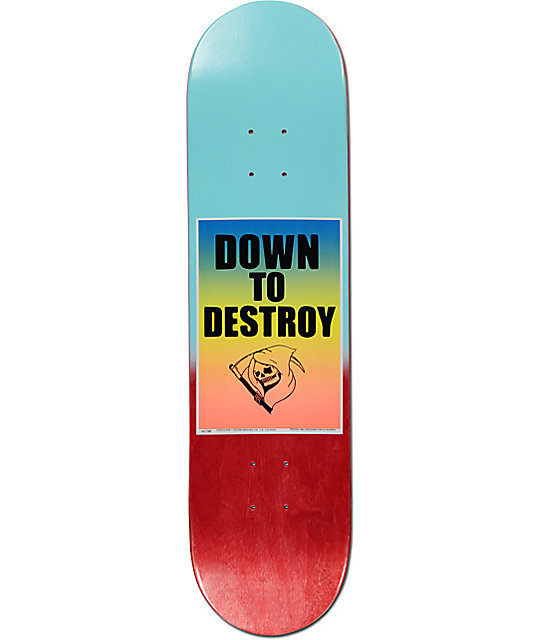 "Chocolate Berle Down To Destroy 8.0"" Skateboard Deck"