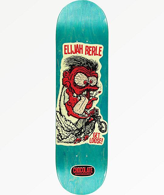 """Chocolate Berle Get Loose 8.5"""" Skateboard Deck"""