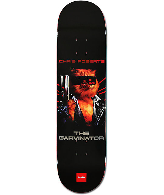 "Chocolate Chris Roberts Garvinator 8.0""  Skateboard Deck"