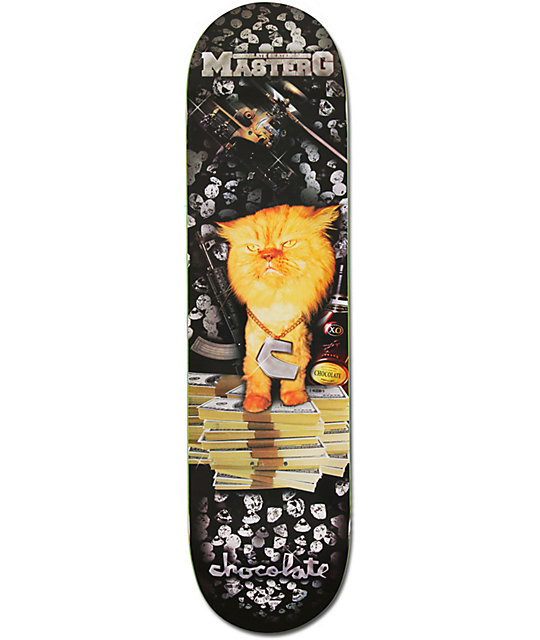 "Chocolate Chris Roberts Master G 8.0""  Skateboard Deck"