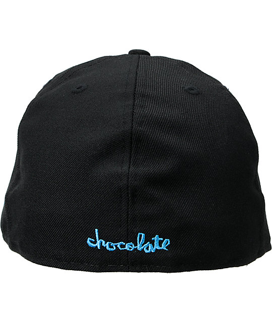 Chocolate Chunk C Black New Era Fitted Hat