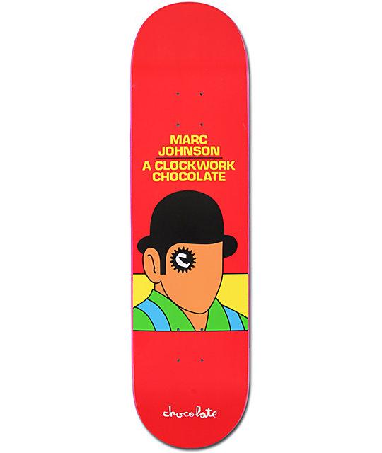 """Chocolate Clockwork Marc Johnson 8.125""""  Skateboard Deck"""
