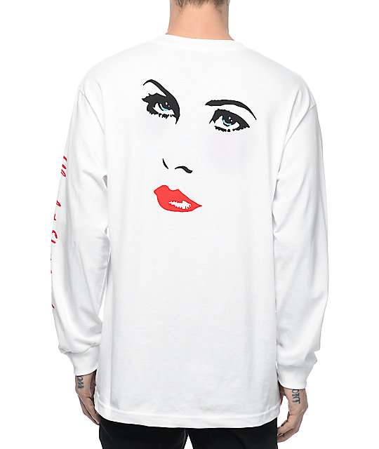 Chocolate Dreamers White Long Sleeve T-Shirt