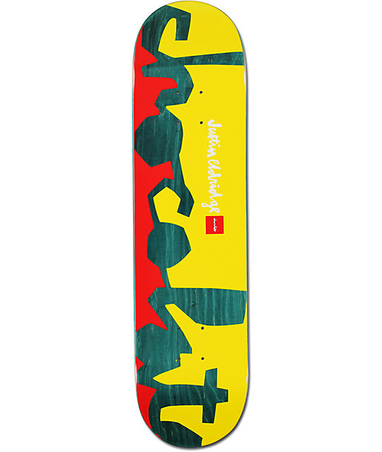 "Chocolate Eldridge Knockout Chunk 8.0""  Skateboard Deck"