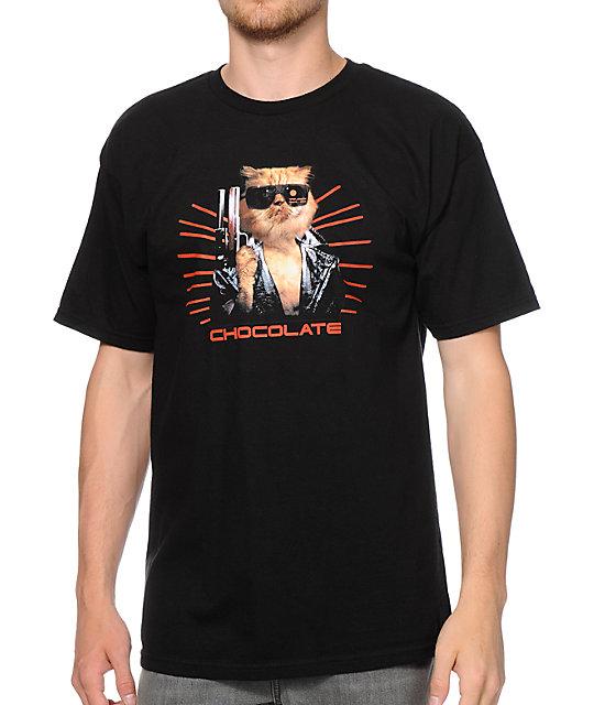 Chocolate Garvinator Black T-Shirt