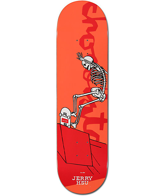 "Chocolate Hsu Day Of The Shred 8.12""  Skateboard Deck"