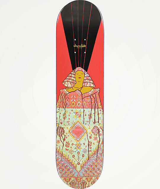"Chocolate Hsu Goddess 8.0"" Skateboard Deck"