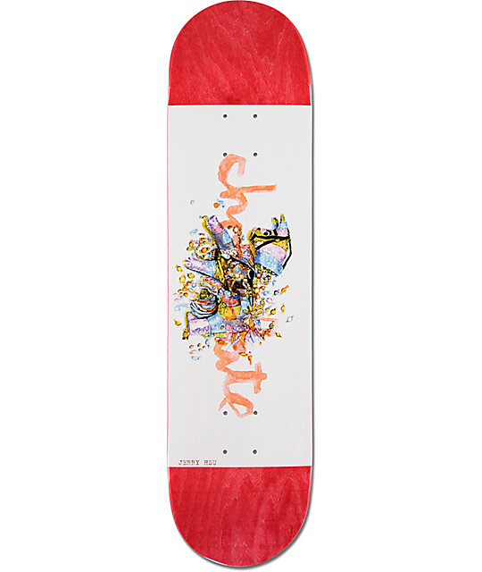 "Chocolate Hsu Traditiones 8.0""  Skateboard Deck"