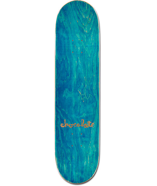 "Chocolate Johnson Chocolate Bar 8.0""  Skateboard Deck"