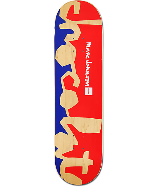 "Chocolate Johnson Knockout Chunk 8.12""  Skateboard Deck"