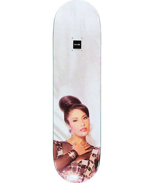"Chocolate La Reina Selena 8.25"" Skateboard Deck"