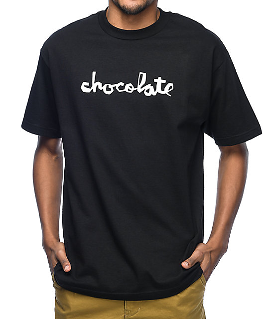 Chocolate Original Chunk Black T-Shirt