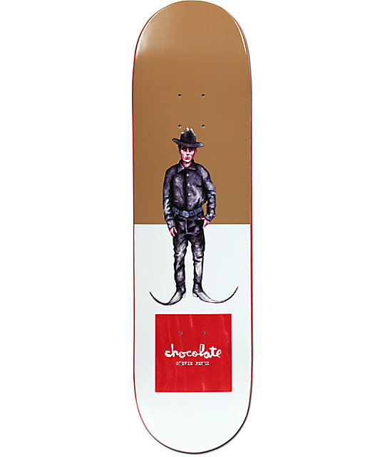 "Chocolate Perez Let It Grow 8.12"" Skateboard Deck"