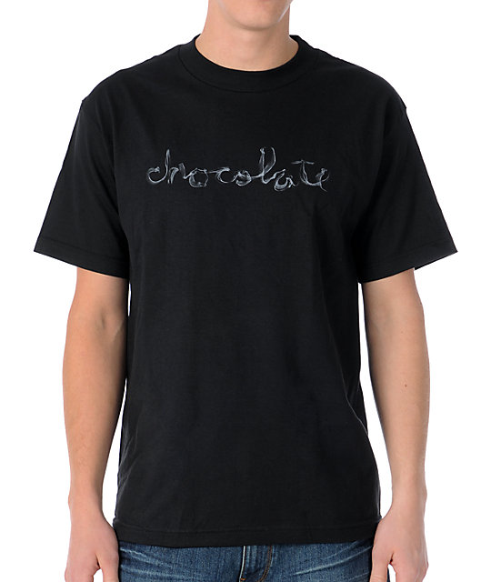 Chocolate Smoke Black T-Shirt
