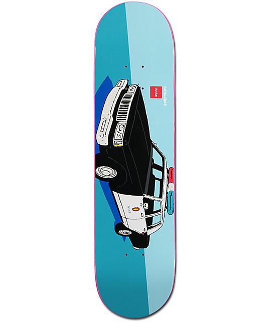 "Chocolate x HUF Cop Car LA 8.0""  Skateboard Deck"