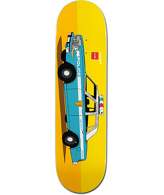 "Chocolate x HUF Cop Car NYC 8.25""  Skateboard Deck"