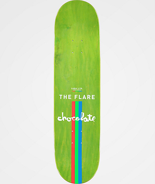 "Chocolate x Lakai Alvarez The Flare 8.0"" Skateboard Deck"