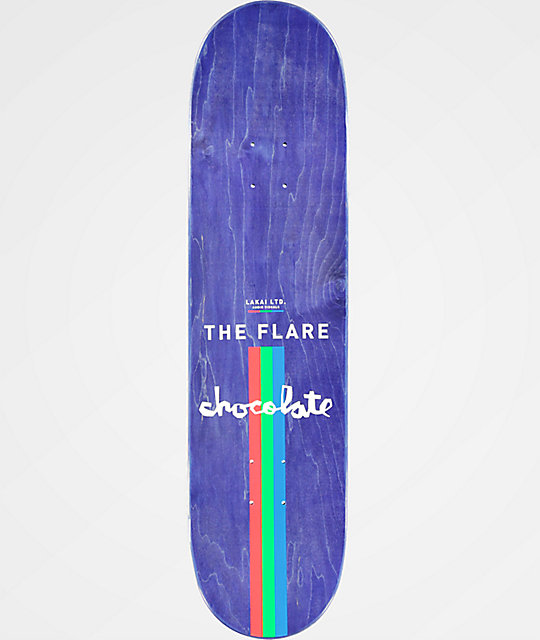 "Chocolate x Lakai Fernandez The Flare 8.125"" Skateboard Deck"
